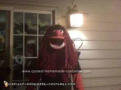 Homemade Animal from the Muppets Costume