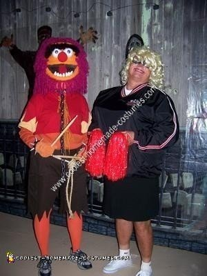 Homemade Animal Halloween Costume Idea