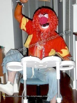 Homemade Animal Muppet Halloween Costume