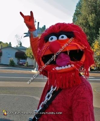 Homemade Animal Muppet Halloween Costume Idea