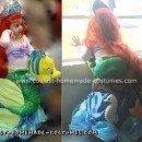 Homemade Ariel the Little Mermaid Costume
