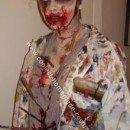 Homemade Art Student Zombie Costume