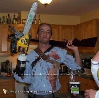 Homemade Ash Costume from Army of Darkness
