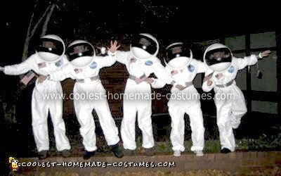 Homemade Astronaut Costumes