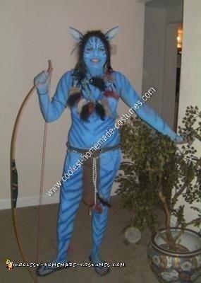Homemade Avatar Adult Costume Idea