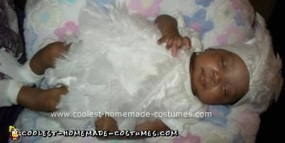 Homemade Baby Bird Preemie Costume