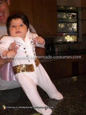 Cool Homemade Baby Elvis Costume