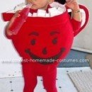 Homemade Baby Kool Aid Man Costume