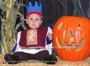 Homemade Baby Prince Costume