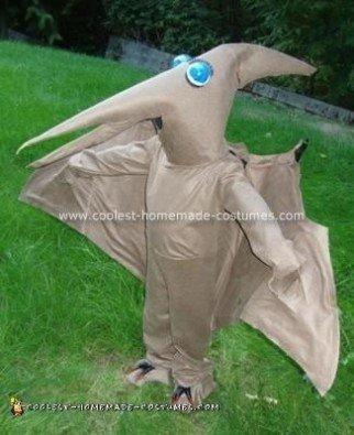 Homemade Baby Pteranadon Costume
