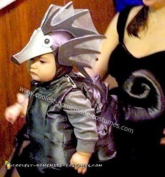 Homemade Baby Seahorse Costume