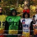 Homemade Bags of Potato Chips Group Halloween Costume