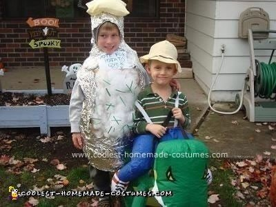Coolest Homemade Baked Potato Costume