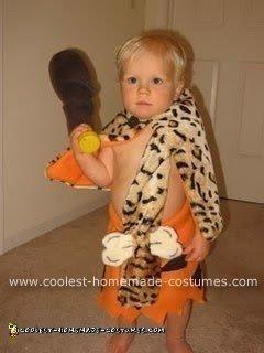 Homemade Bamm Bamm Rubble Costume