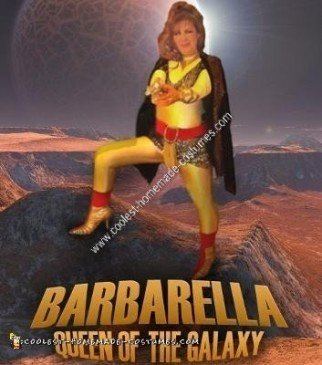 Homemade Barbarella Costume