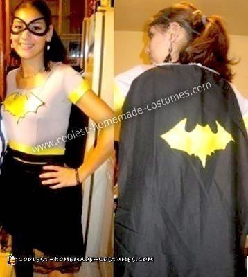 Homemade Batgirl Costume
