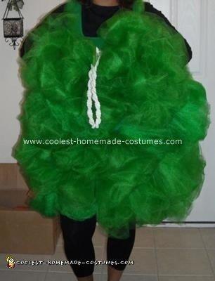 Homemade Bath Loofah Costume