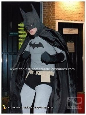Homemade Batman Costume