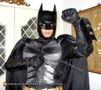 Homemade Batman Dark Knight Costume