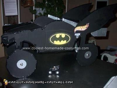 Homemade Batman Monster Truck Costume