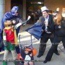 Chrs > SuperhHomemade Batman, Robin, Catwoman and Penguin Halloween Costumes