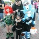 Homemade Batman Villains Child Group Halloween Costumes