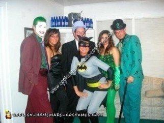 Homemade Batman Villians Costumes