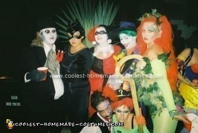 Homemade Batman Villians Group Costume