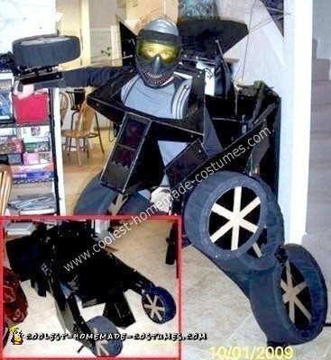 Homemade Batmobile Tumbler Transformer Costume