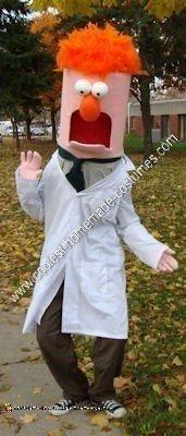 Homemade Beaker Halloween Costume Idea
