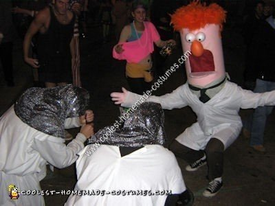 Homemade Beaker Halloween Costume Idea
