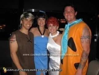 Homemade Bedrock Group Costumes