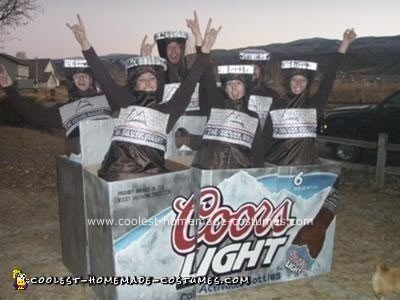 Homemade Beer Group Costume Idea