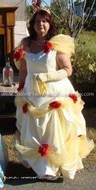 Homemade Belle Costume