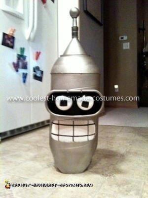 Homemade Bender from Futurama Costume