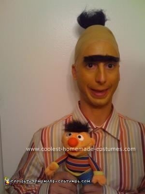 Homemade Bert and Ernie Costume