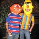 Homemade Bert and Ernie Couple Costume