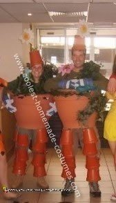 Homemade Bill and Ben Costumes