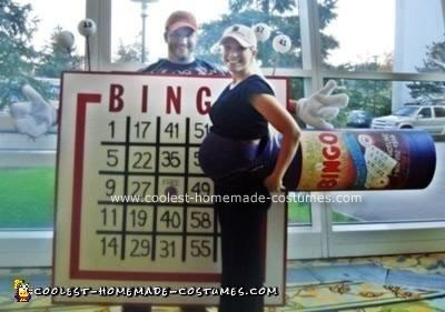 Homemade Bingo Costume