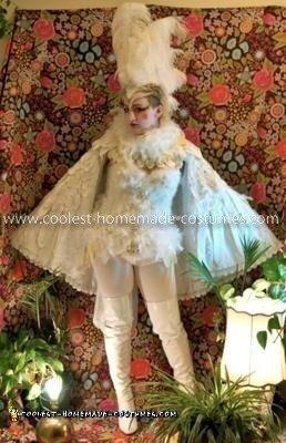 Homemade Bird Costume