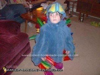 Homemade Bird Costume Idea