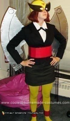 Homemade Birdgirl Costume