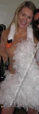 Homemade Bjork Costume