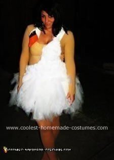Homemade Bjork Costume