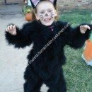 Homemade Black Cat Costume