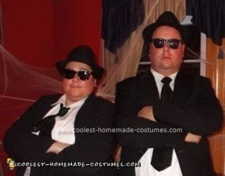 Homemade Blues Brothers Costume