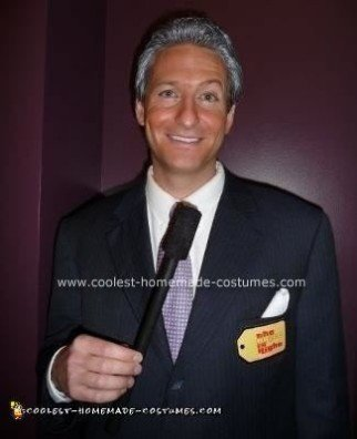 Homemade Bob Barker Costume