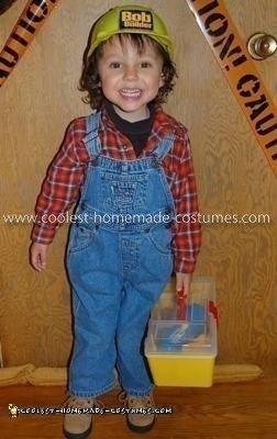 Homemade Bob the Builder Costume 5