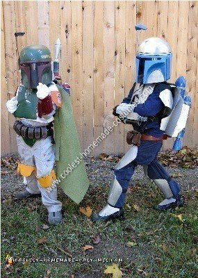 Homemade Boba and Jango Fett Couple Costume Idea