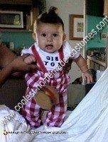 Homemade Bob's Big Boy Baby Costume